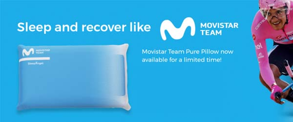 Movistar team and Sleep Angel