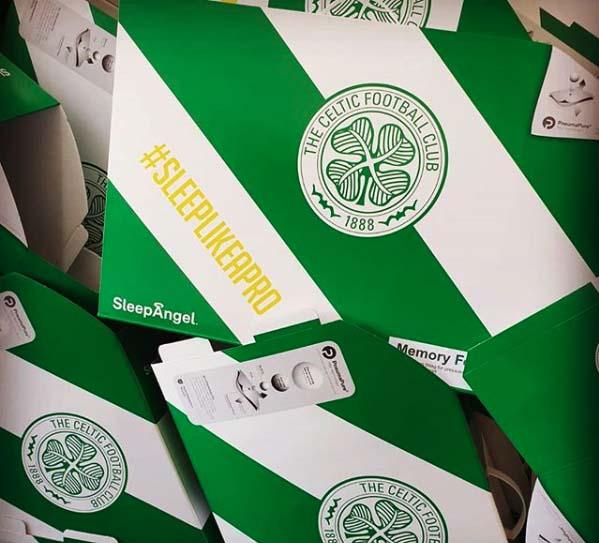 Celtic FC - Sleep Angel sport verpakking