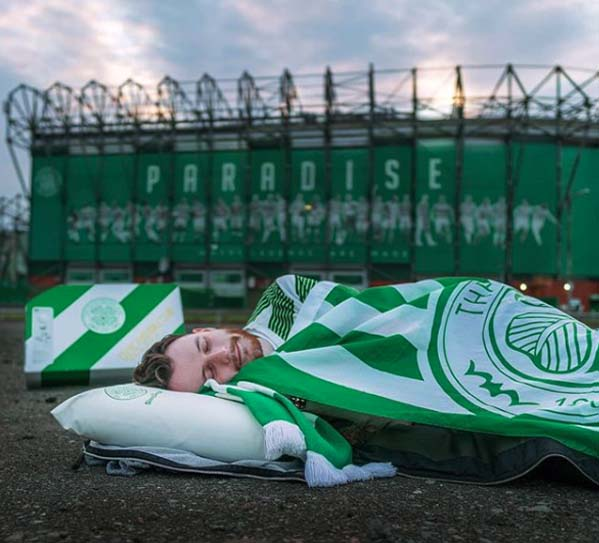 Sleep angel - partner Celtic FC